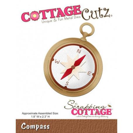 Die Compas - CottageCutz - Scrapping Cottage - Die Compass