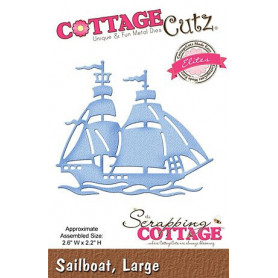 Die Voilier - CottageCutz - Scrapping Cottage - Die Sailboat