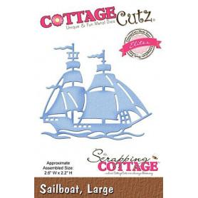 Die Voilier - CottageCutz - Scrapping Cottage - Die Sailboat