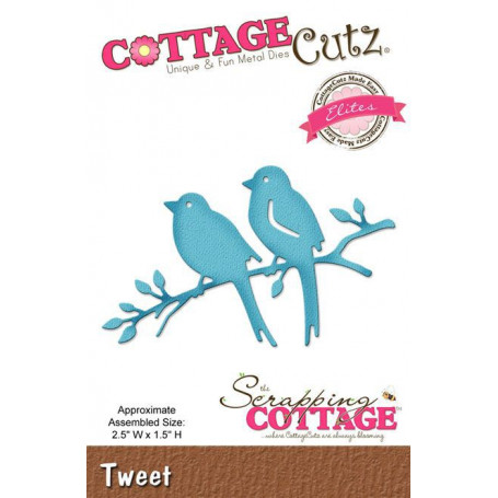 Die Tweet - CottageCutz - Scrapping Cottage