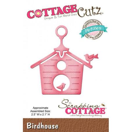 Die Birdhouse - CottageCutz - Scrapping Cottage