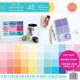 Set de papier 30x30 Paint Chip 48f - Craft Smith