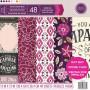 Set de papier 30x30 Soho Boutique 48f - Craft Smith