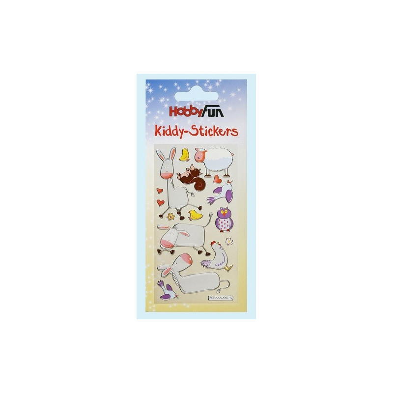 Autocollants Animaux IV – Kiddys-Stickers - Hobbyfun