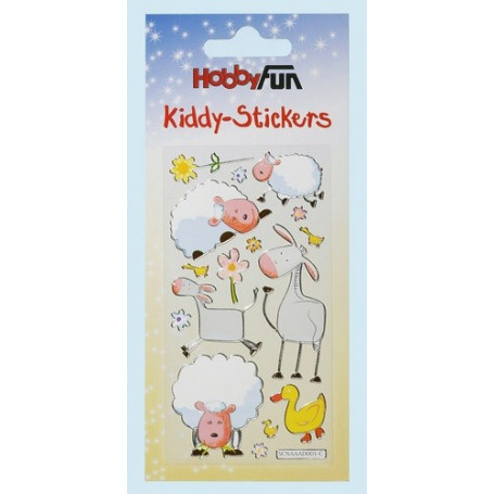 Autocollants Animaux VI – Kiddys-Stickers - Hobbyfun