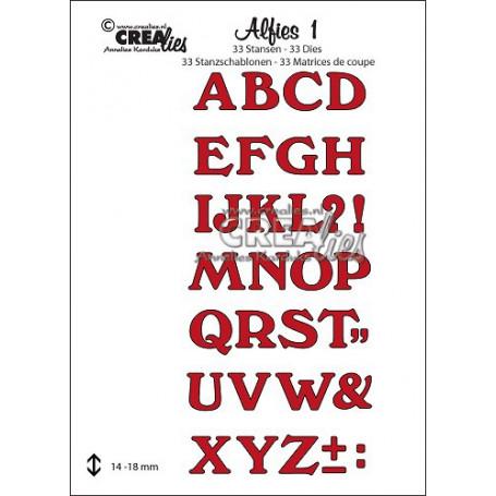 Dies Alfies 1 Capitals - Crealies