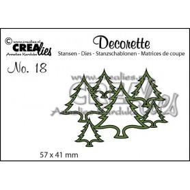 Dies Decorette 18 Trees - Crealies