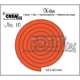 Die Xtra no. 10 - Spiral - Crealies
