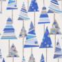 Tissu décoratif Sapin Bleu Creapop - Hobbyfun