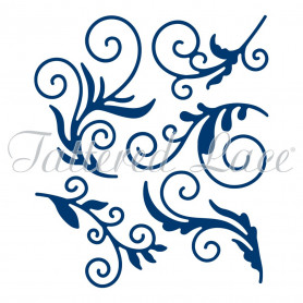 Dies Delicate Flourishes 5pc - Tattered Lace