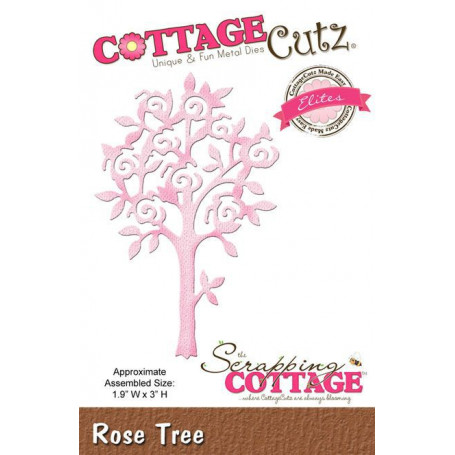 Die Rose Tree CottageCutz - Scrapping Cottage