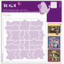 Pochoir de mises en page Puzzle 30x30 cm - Toga