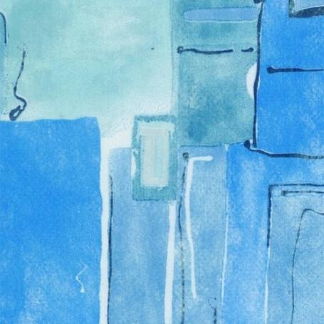 Non-tissé Milano Bleu Creapop - Hobbyfun