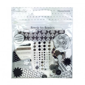 Back To Basics Goody Bag - Monochrome - Dovecraft