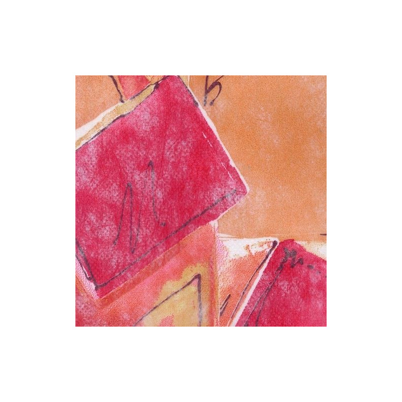 Non-tissé Milano Rouge Creapop - Hobbyfun