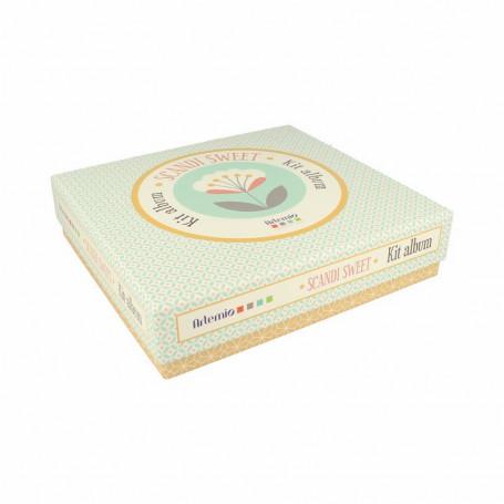 Kit smash book Scandi Sweet - Artémio
