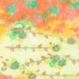 Non-tissé Fleurs orange Creapop - Hobbyfun