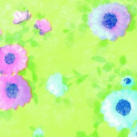 Non-tissé Pré de Fleurs Creapop - Hobbyfun