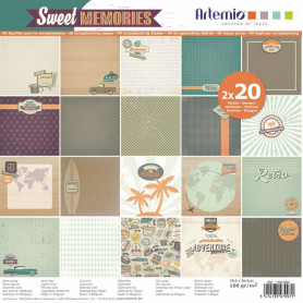 Set de papier 30x30 Sweet Memories – Artemio