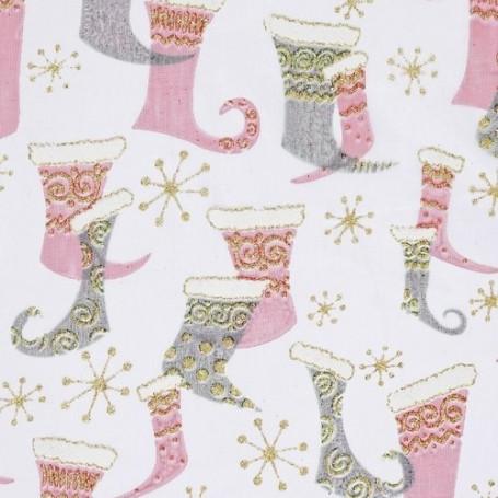 Tissu décoratif Bottes Creapop - Hobbyfun