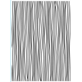 Classeur de gaufrage A6 Fines lignes – Darice – Embossing folder Thin lines