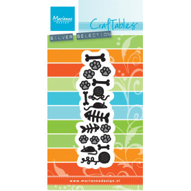 Craftables Punch die cats & dogs CR1368 - Marianne Design