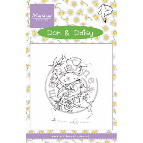 Tampon Don & Daisy Freeze Frame - Marianne Design
