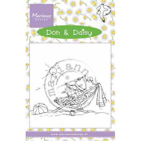 Tampon Don & Daisy Holiday App - Marianne Design