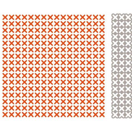 Classeur de gaufrage Extra Cross - Marianne Design - Design Folder Extra Cross