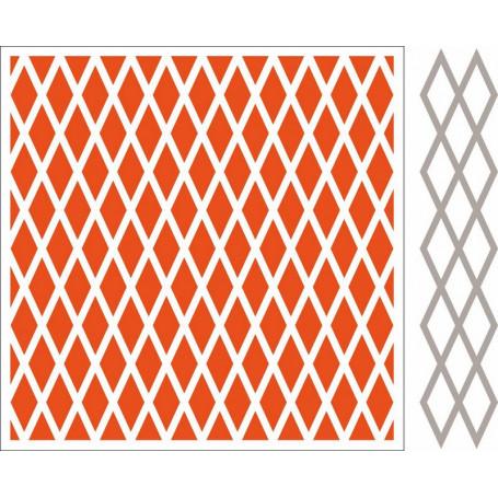 Classeur de gaufrage Extra Diamands - Marianne Design - Design Folder Extra Diamonds