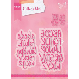 Collectables Charming Alphabet dies COL1397 - Marianne Design