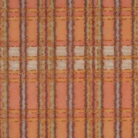 Tissu décoratif Carreaux orange Creapop - Hobbyfun