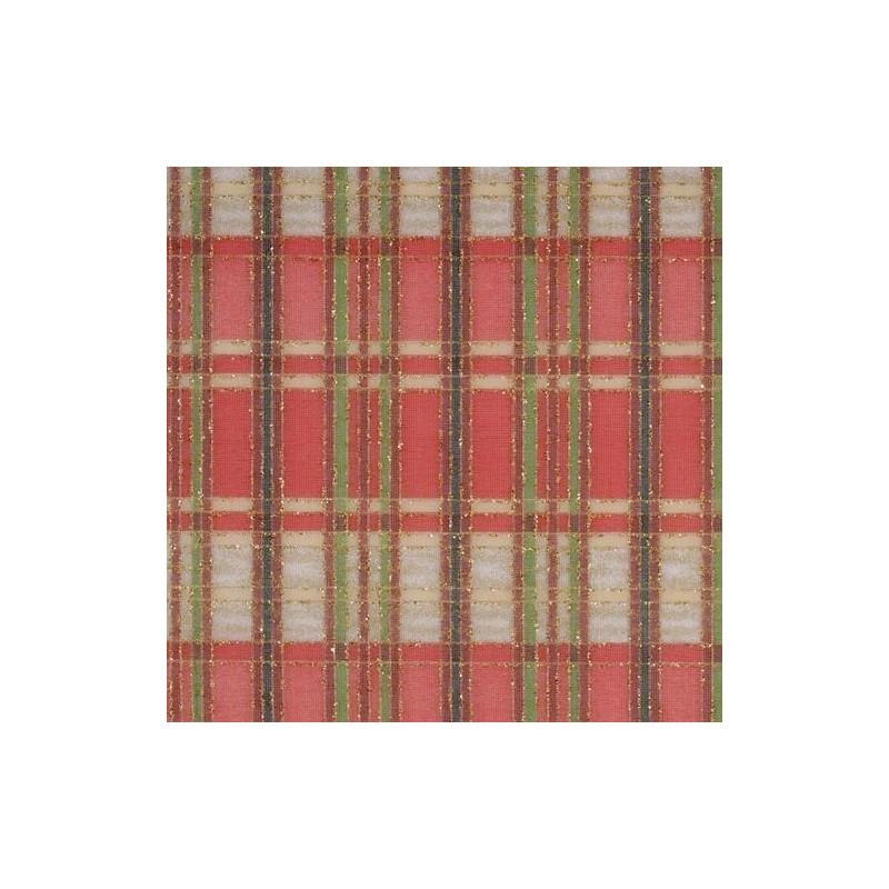 Tissu décoratif Carreaux Rouge Creapop - Hobbyfun