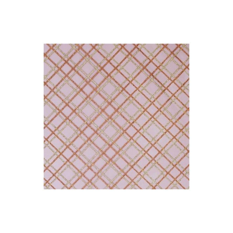 Tissu décoratif Carreau Rouge Creapop - Hobbyfun