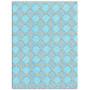 Set de papier A4 Blanc/Bleu/or 6f - L'or de Bombay by Toga