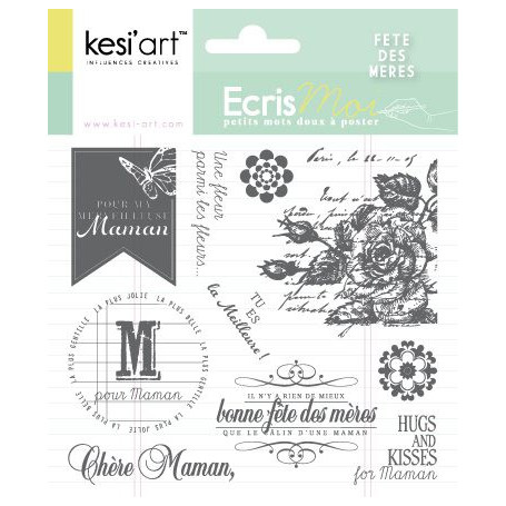 Tampons Fête des Mères - Ecris moi - Kesi'art