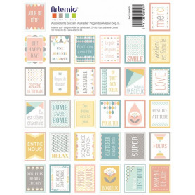 Stickers Timbres Scandi Sweet - Artemio