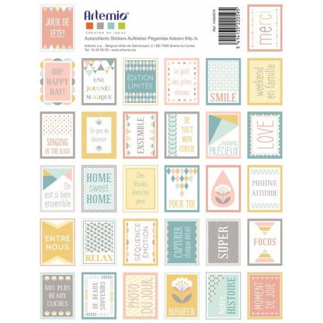 Stickers Timbres Scandi Sweet - Artemio