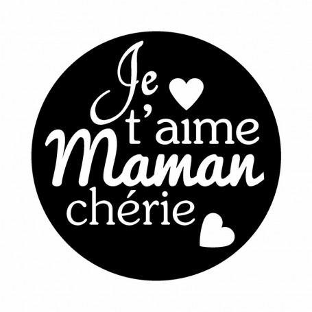 Kit Mini tampon et bloc Maman - Artemio