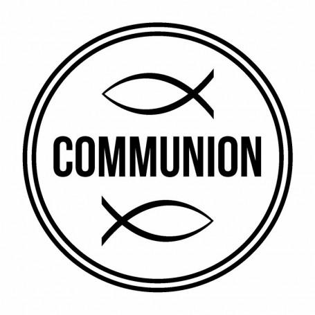 Tampon bois Communion poisson – Woodies Artemio