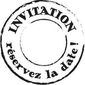 Tampon bois Invitation – Woodies Artemio