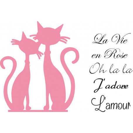 Collectables French Cats dies COL1344 - Marianne Design