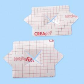 Support pour verre cubique Creapop à décorer – Décoration de table - Hobbyfun