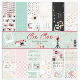 Set de papier 30x30 Clic Clac 6f - Toga