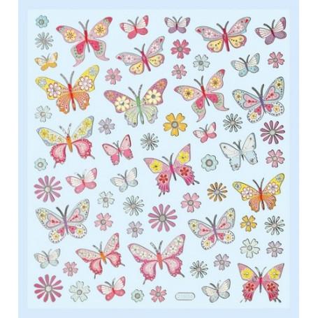Autocollants Papillons I - Hobbyfun