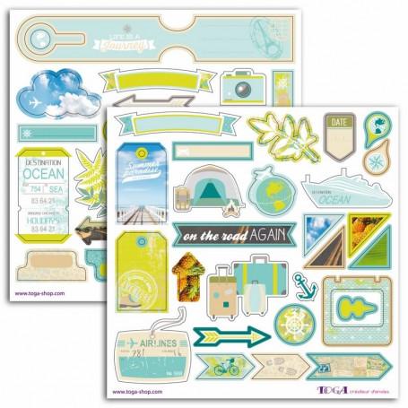 Stickers Escapade 2 planches - Toga