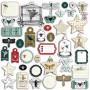 Die-cuts 40 formes découpées Cabinet de curiosités - Toga