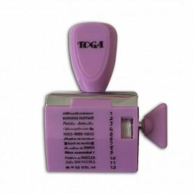 Tampon à molette 12 messages Famille - Toga