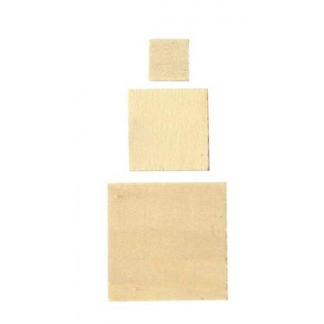 Formes en bois - Carré - Artemio