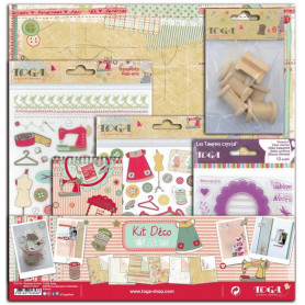 Kit scrapbooking Miss Couture - Toga